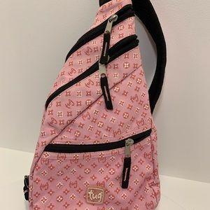 Tug mini sling backpack/ purse